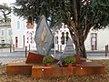Aux combattants de la Résistance, hommage, stèle - gare de Mussidan.jpg