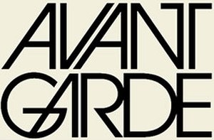 Avant-Garde (magazine) - Avant Garde logogram featuring typeface of the same name.  Designed by Herb Lubalin.