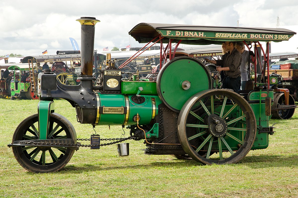 Steam Road-Roller, by Aveling and Porter Giclee Print at ...  Road Roller Aveling