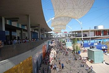 Avenida 2008 durante la Expo de Zaragoza.jpg