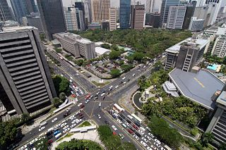 Makati Central Business District Central Business District in National Capital Region, Philippines