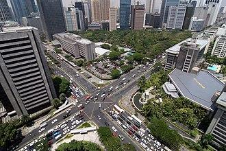 Ayala Avenue - The Ayala Triangle
