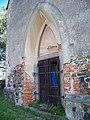 Běleč (KL), kostel svatého Mikuláše, portál.jpg