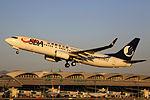 B-5781 - Shandong Airlines - Boeing 737-85N(WL) - TAO (14119098647).jpg