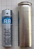 Vergleich B-Batterie mit AA