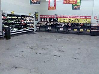 BI-LO (Australia) - A BI-LO Supermarket produce department during the conversion