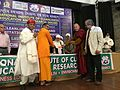 Baba Iqbal Singh being honoured with Lifetime Achievement Award by NICER, New Delhi.jpg