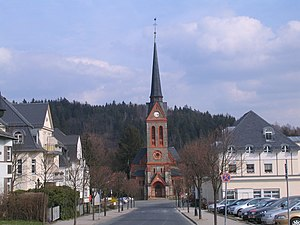 Bad Elster - evang. luth. church of Bad Elster