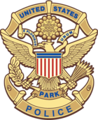 Badge of a USPP officer