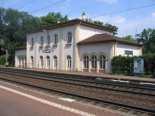 Hanau-Wilhelmsbad station railway station in Hanau, Germany