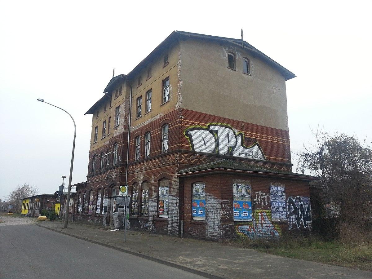 Bahnhof brandenburg altstadt wikipedia for Designhotel brandenburg