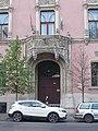 Bajza Street 44, portal, 2019 Terézváros.jpg