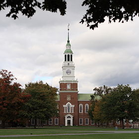 Baker Memorial Library at Dartmouth College, October 14, 2007.jpg