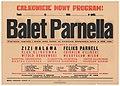 Balet Feliksa Parnella - afisz, 1946.jpg