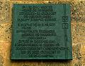 Ballhofplatz Hannover Ballhof Infotafel Verband der Fabrikarbeiter Deutschlands 1890 IG Industriegewerkschaft Chemie Papier Keramik BCE.jpg