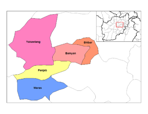 Districts of Bamyan.