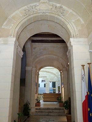 Banca Giuratale (Valletta) - Interior of the Banca Giuratale