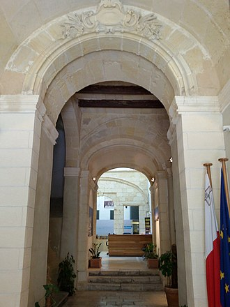 Banca Giuratale (Valletta) - Interior of the Banca Giuratale