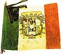 Bandiera Colonnella del 3° Reggimento Cacciatori della Guardia Reale del Regno delle Due Sicilie (25.06.1860-13.02.1861) recto.JPG