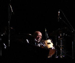 Ellade Bandini Italian drummer