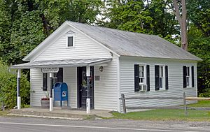 National Register of Historic Places listings in Dutchess County, New York - Image: Bangall, NY, Post Office