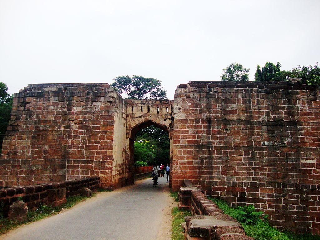 Barabati fort entrance gate