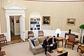 Barack Obama and Jan Favreau in the Oval Office September 2010.jpg