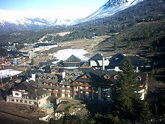 Cerro Catedral - Image: Bariloche. Base del Cerro Catedral