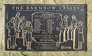 Cross Gates - Memorial plaque in Manston Park