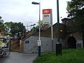 Barnes station southern entrance.JPG
