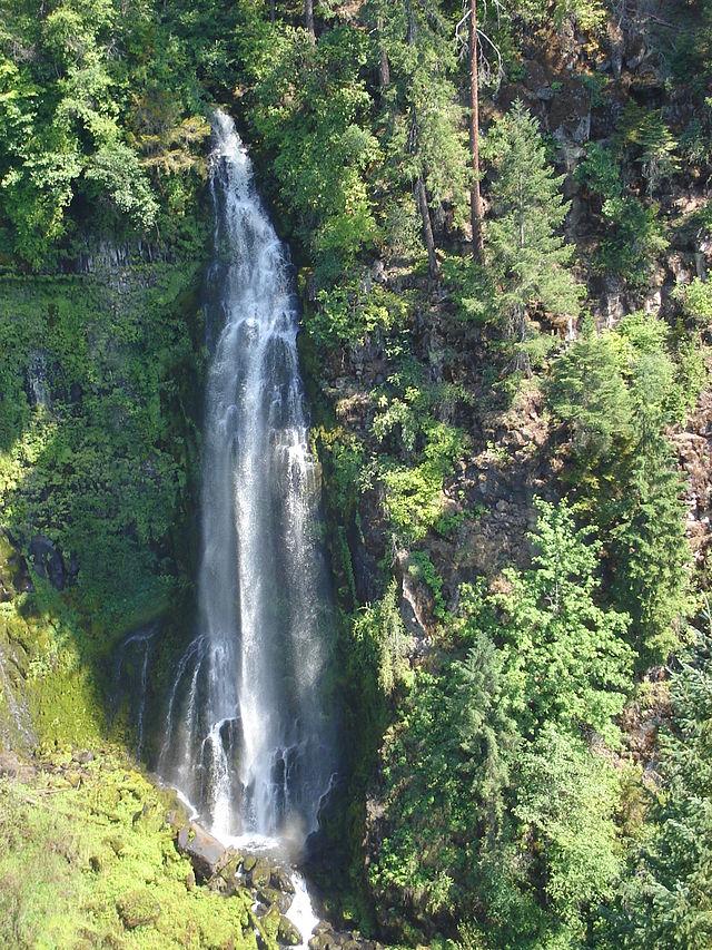 List Of Waterfalls In Oregon Wikiwand - Waterfalls in oregon map