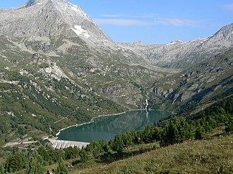 Aussois - Barrage du Plan d'Amont, Aussois, Vanoise