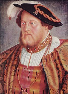 Portret van Otto Hendrik door Barthel Beham, 1535.