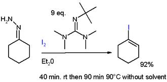 Hydrazone iodination - Barton Vinyl Iodide Synthesis