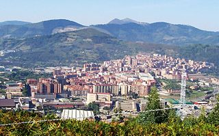 Basauri Municipality in Basque Country, Spain