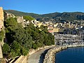Bastia, giardinu Romieu è Vechju Portu.jpg