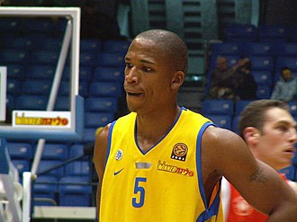 Maceo Baston - Baston, with Maccabi Tel Aviv, in 2006.