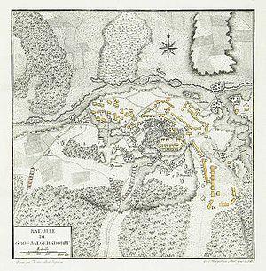 Battle of Gross-Jägersdorf - Image: Bataille de Gros Jaegerndorff