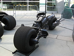 English: The Batpod at Hollywood, California