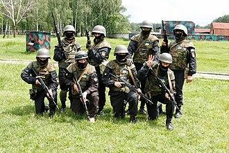 Donbas Battalion - Donbas Battalion training group near Kiev (2014)