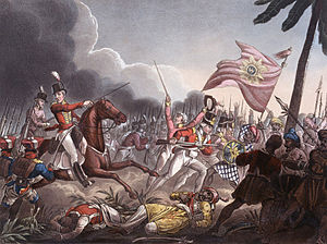 Second Anglo-Maratha War - Image: Battle of Assaye