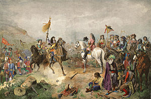 Battle of Mohács (1687) - Image: Battle of Mohács 1687