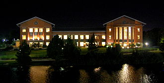 Baylor Law School - Baylor Law School on the banks of the Brazos River.