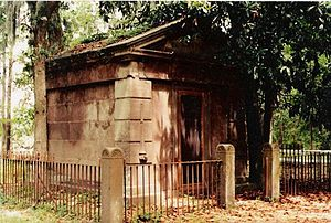 Hilton Head Island, South Carolina - The Baynard Mausoleum, built in 1846, is the oldest intact structure on the island.