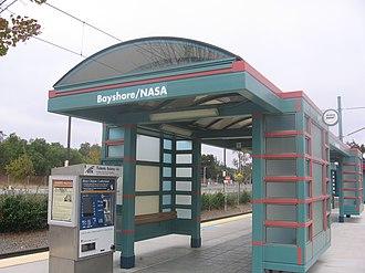 Bayshore/NASA station - Image: Bayshore NASA VTA 0977 03