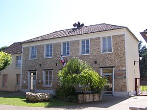 Bazainville - The town hall in Bazainville