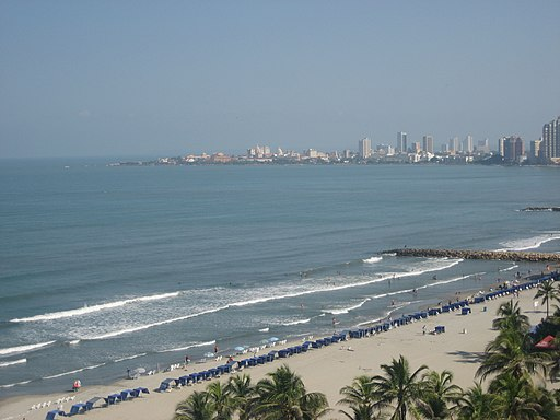 Beach in Cartagena 2