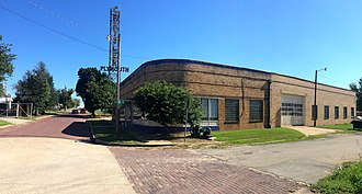 National Register of Historic Places listings in Creek County, Oklahoma - Image: Beard Motor Company Bristow Ok