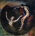 Beaux-Arts de Carcassonne - Le pêcheur et la nymphe -Salon de 1837 - Henri Lehmann 200cm.jpg