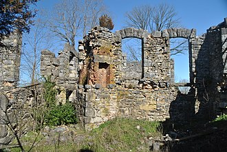 National Register of Historic Places listings in Barren County, Kentucky - Image: Bell's Tavern Ruins